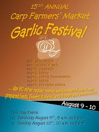 Carp Garlic Festival 2014