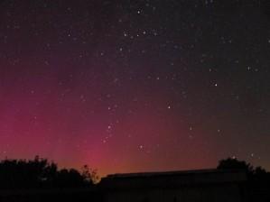 Aurora  61sec exposure NE