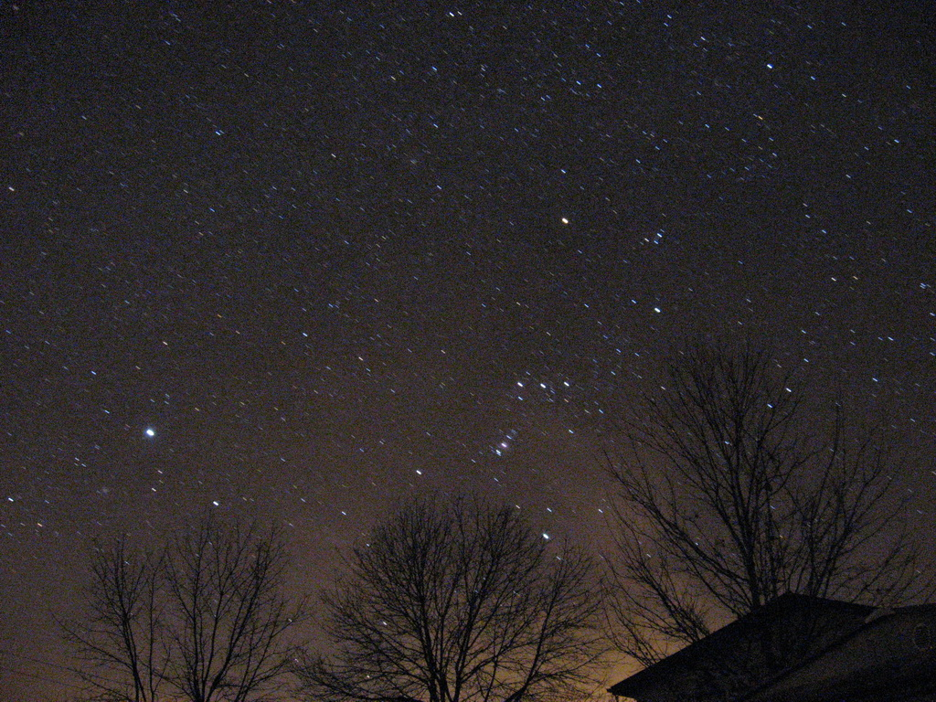 Sirius & Orion