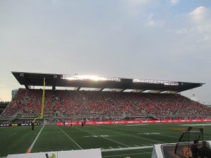ottawa cfl stadium north side bleachers