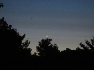 Venus Jupiter Conjunction