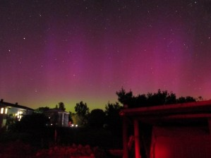 Aurora 20:52edt, 61sec exposure NW