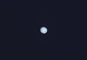 Jupiter and moons with ASI120MC camera