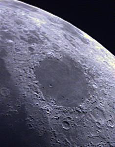 1st lunar imaging with zwo awi 120mc camera