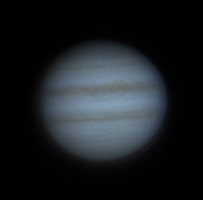 Jupiter F25 FL=2500mm 35msec exposures