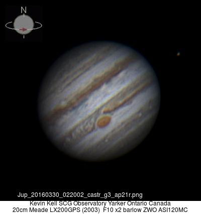 Jupiter 20160330 02;22 UT Best ever!